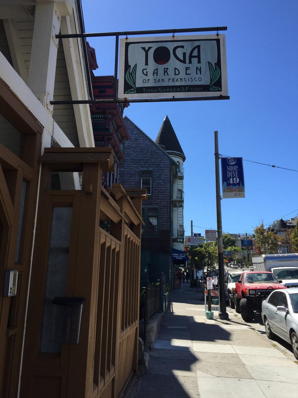 Yoga garden, San Fransisco