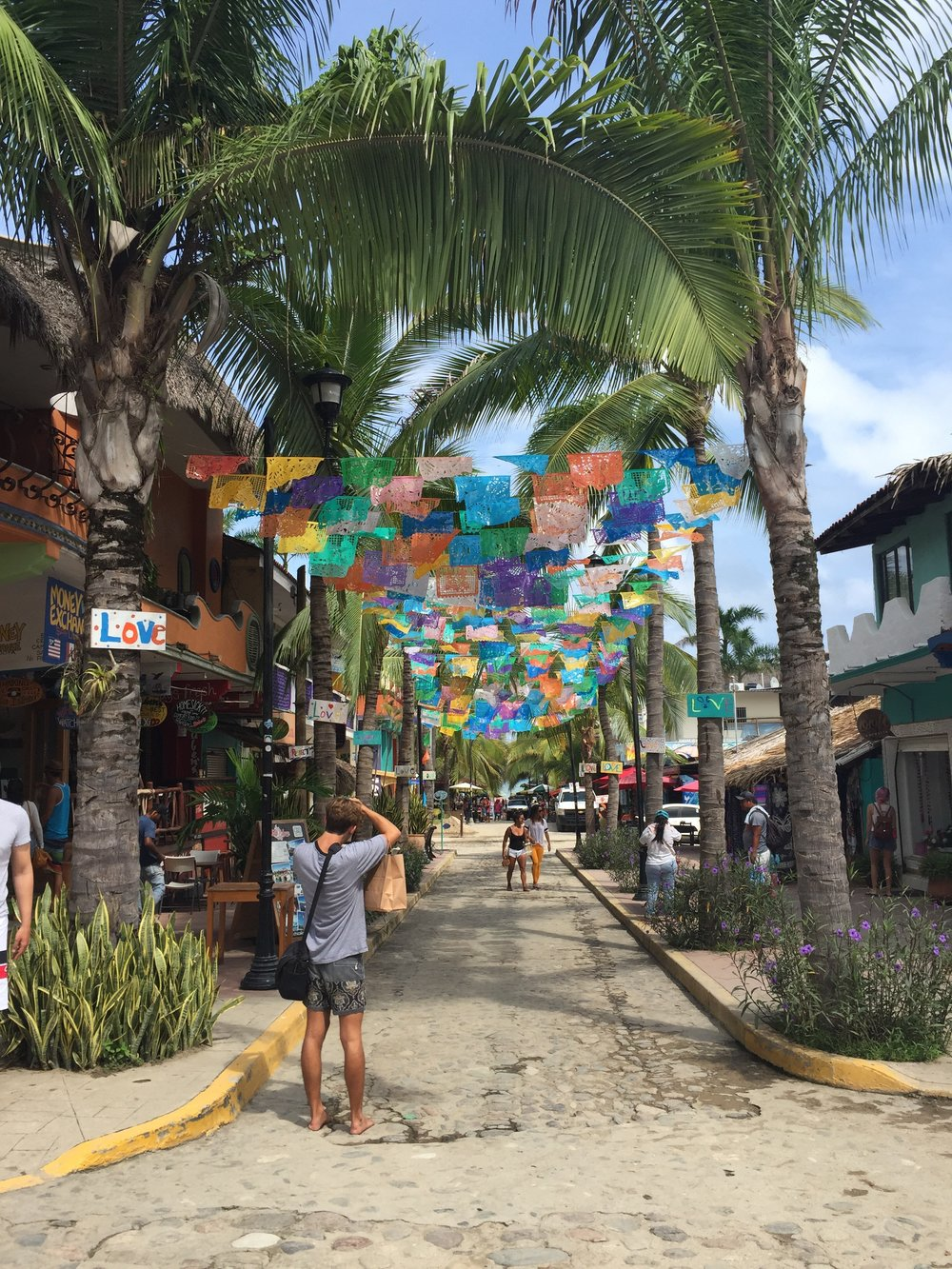 Sayulita, my hometown for the next couple of weeks.