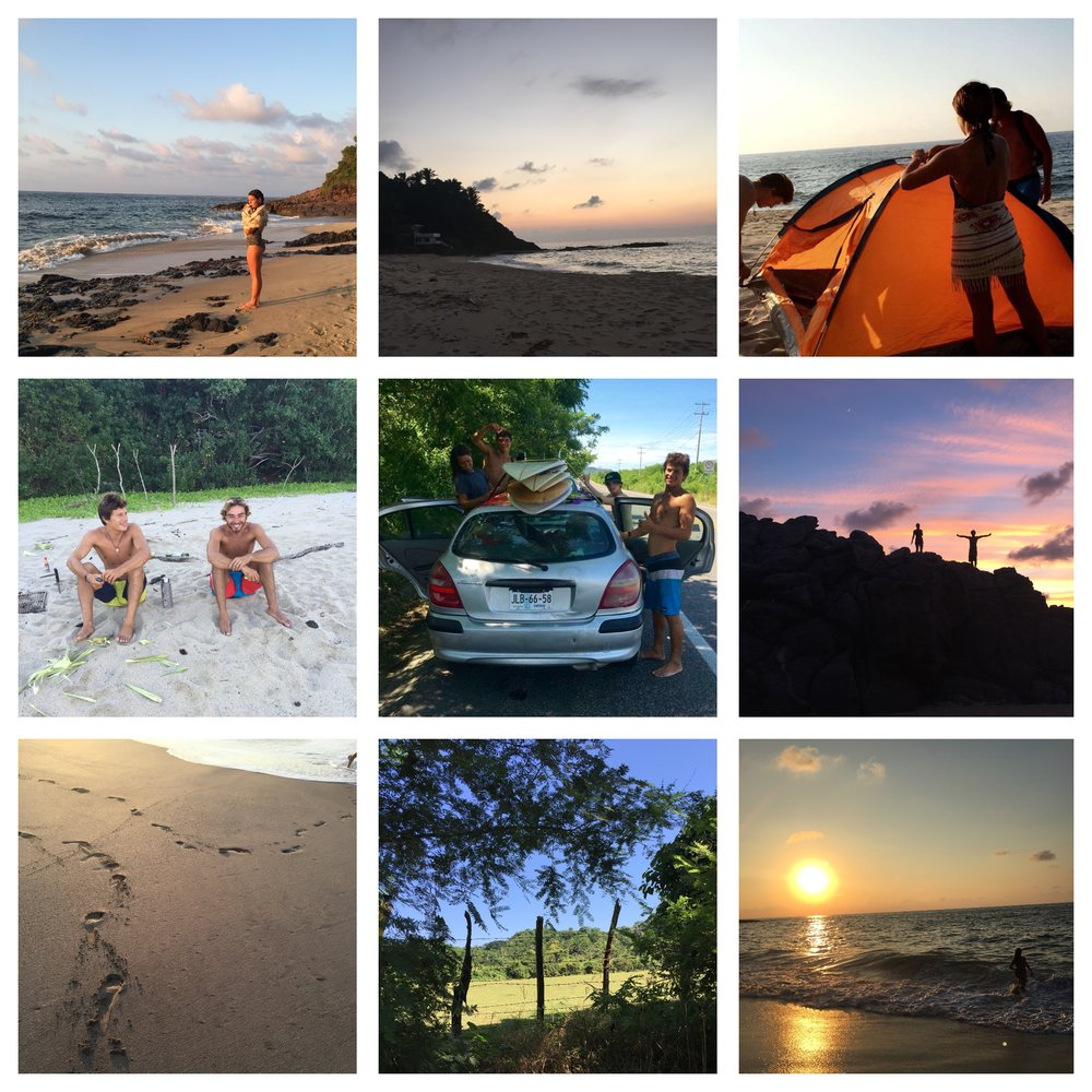 Small selection of pics from the last weeks in San Pancho.