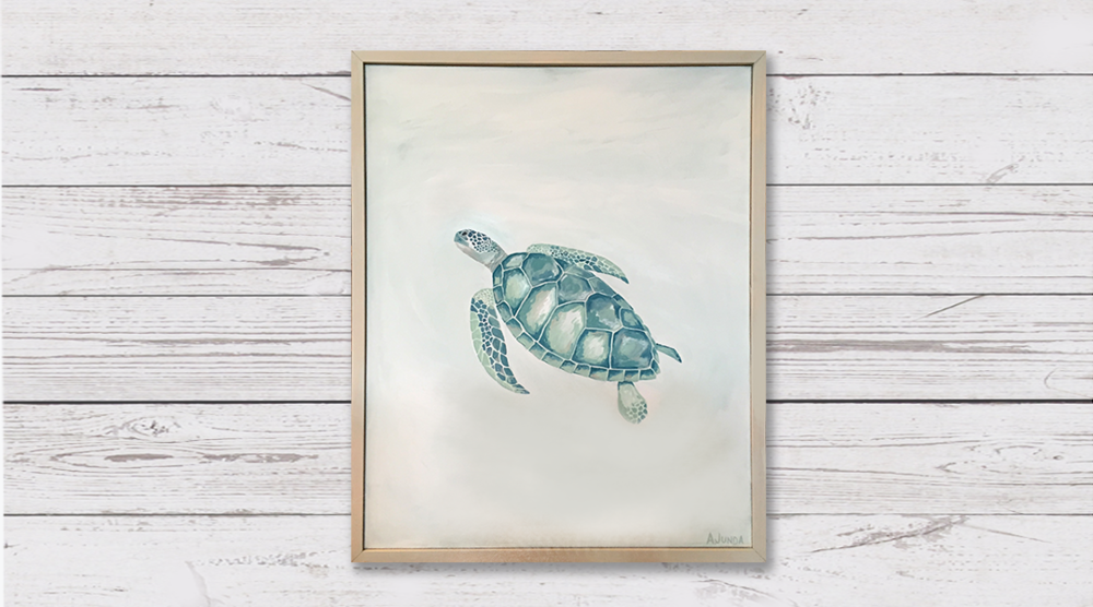 Sea Turtle - Sold