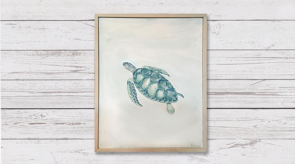 Sea Turtle - Sold