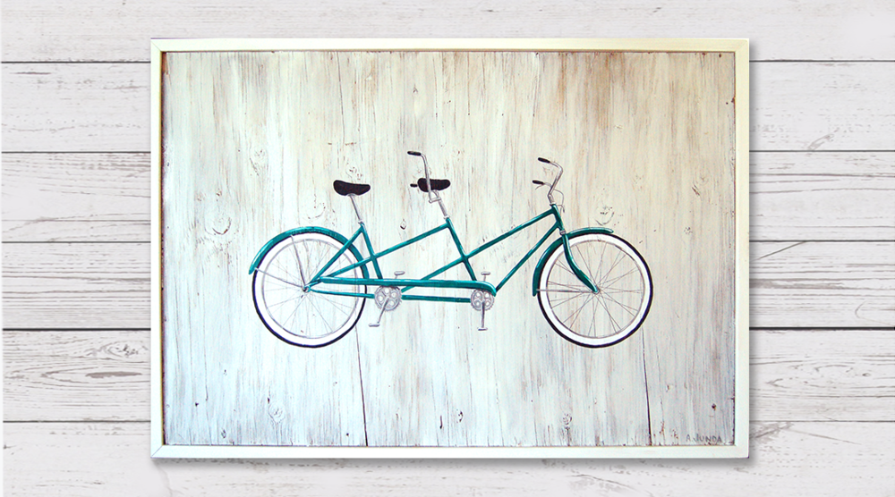 Green Tandem - Sold