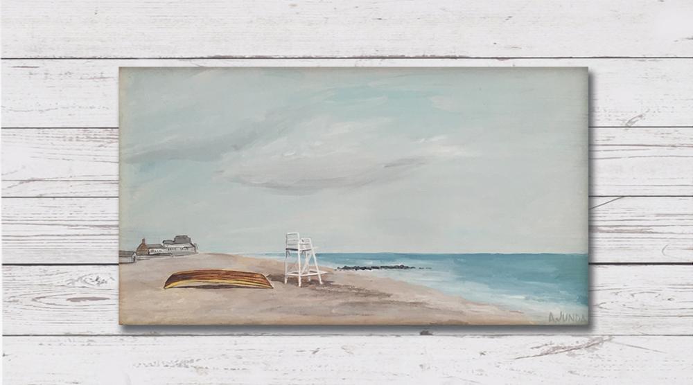 Beach Scene - Sold