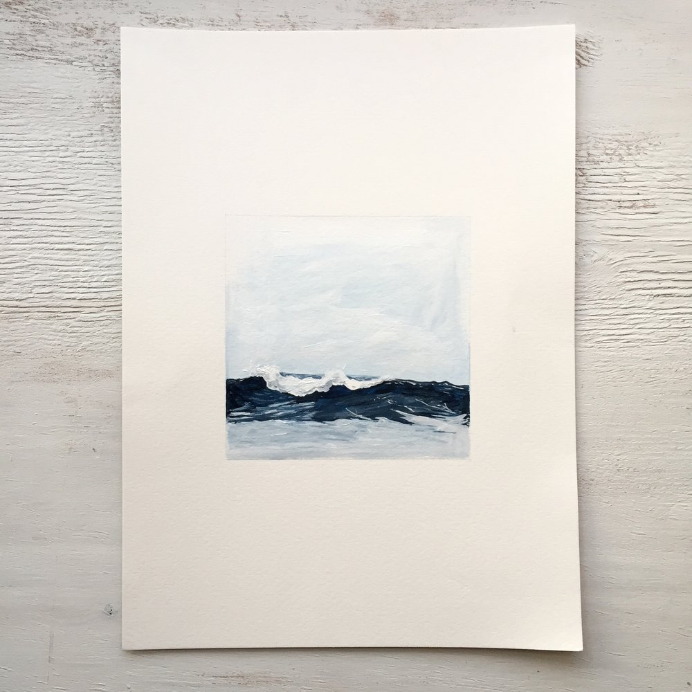 Seascape on Paper - 101 - SOLD