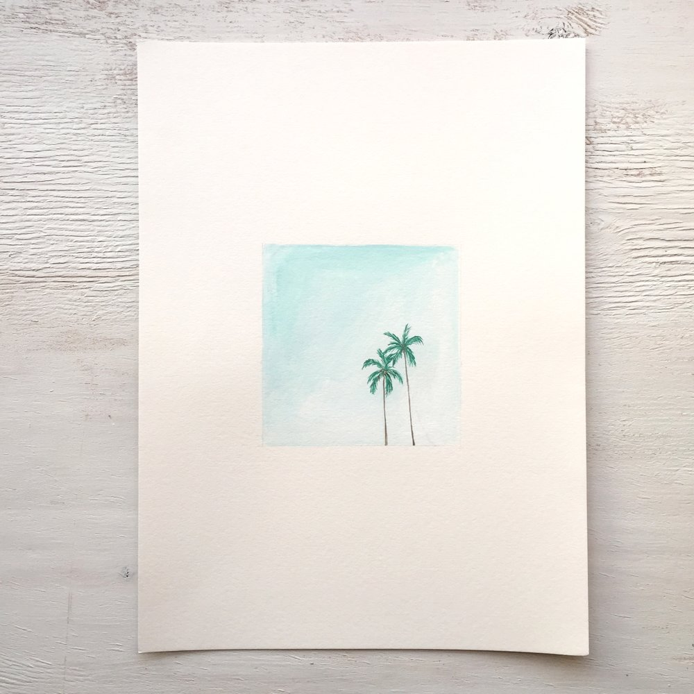 Palm Trees  - 100 - SOLD