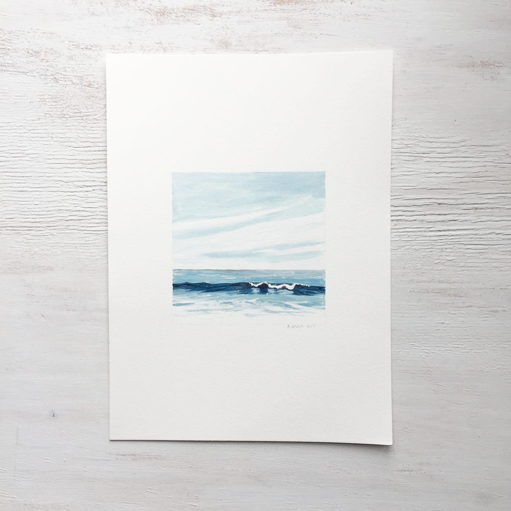 Seascape on Paper - 105 - SOLD