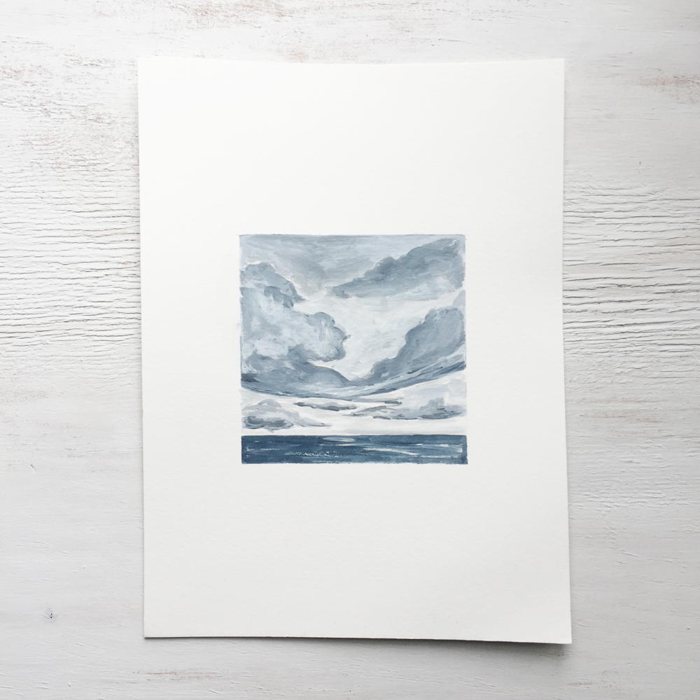 Seascape on Paper - 106 - SOLD