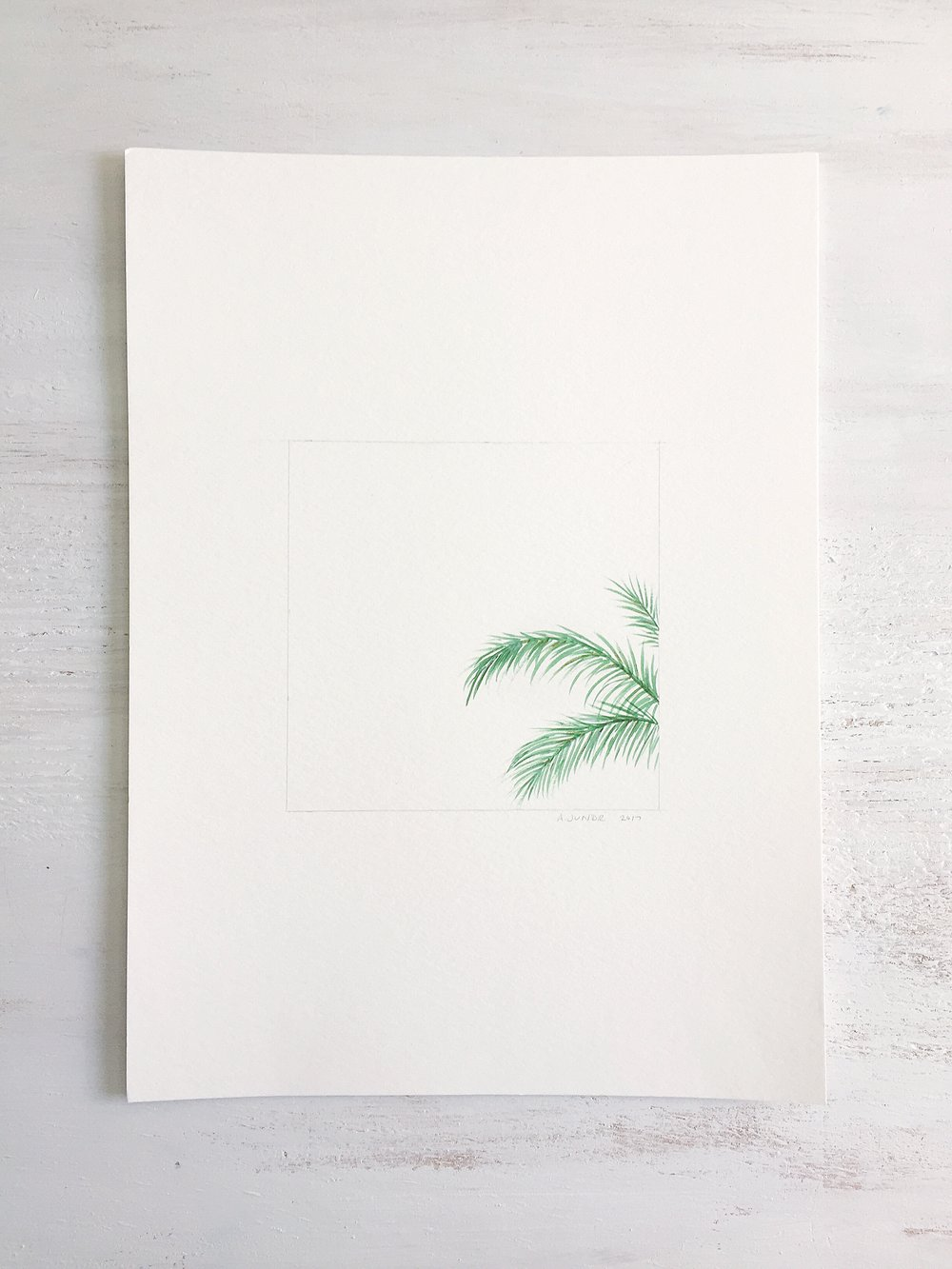 Palm Tree - 101 - SOLD
