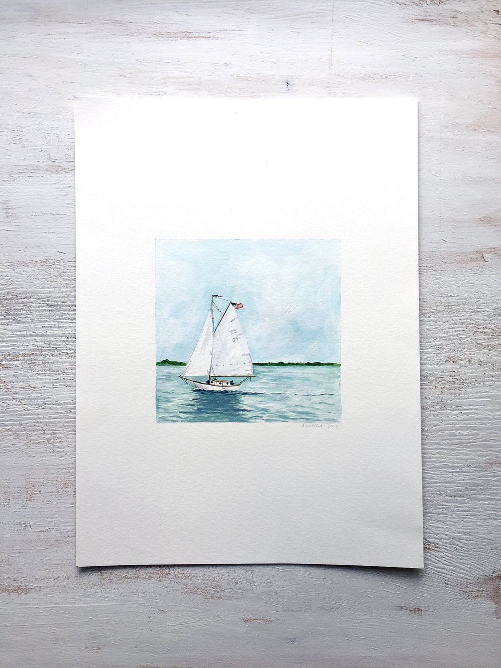 Sailboat - 100 - SOLD