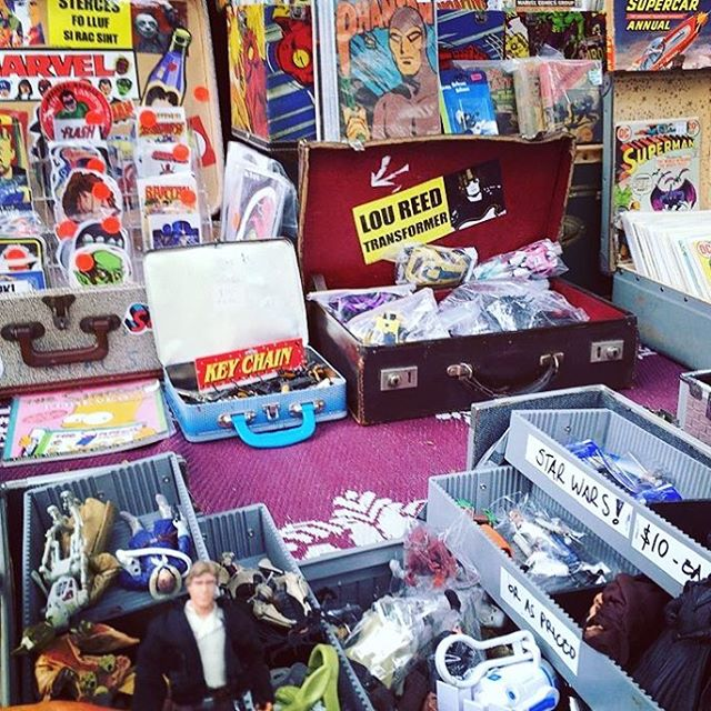 Blast from the past at the @fortitudevalleymarkets tomorrow! These awesome pop culture collectables will be available from 9am - 4pm. #hanssolo #fortitudevalleymarkets