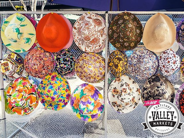 Roxanne Taylor will be selling her ever popular handmade hats at the Fortitude Valley Markets this Saturday!