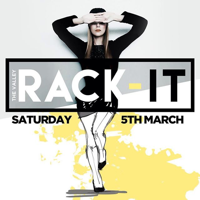 We're bringing back the RACK (it) The Valley Rack-It is back on Saturday 5th March. $20 stall space and we give you a RACK #fashionista #designer #vintage