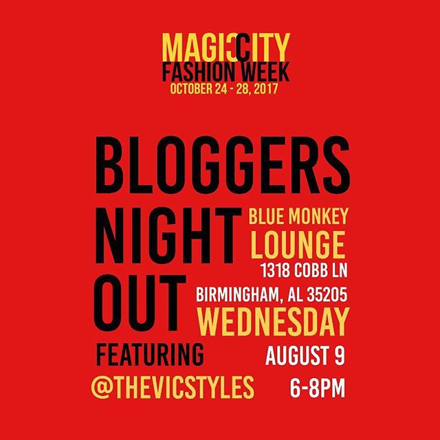 Who doesn't love a fun meet up with great people? Join @magiccityfashionweek & @thevicstyles this Wednesday ✨