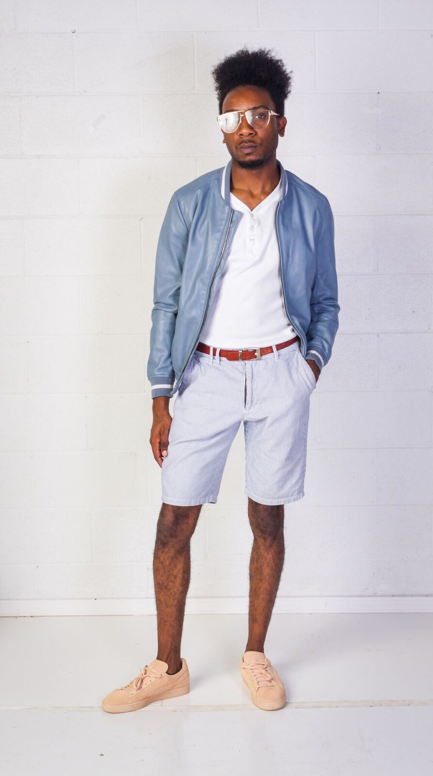 black boy preppy thrift outfit america's thrift store
