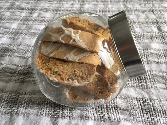 Pistachio Orange Biscotti