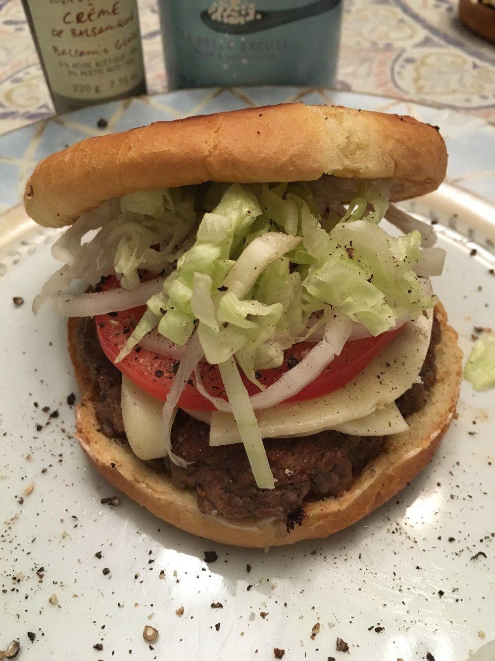 Burger a la Belle Excuse