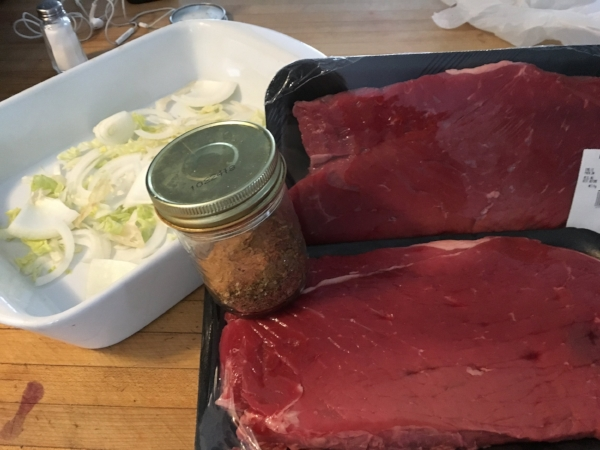 Blade Roast for tortellini