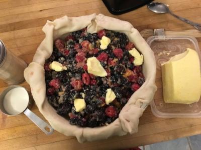 Rustic Berry Pie