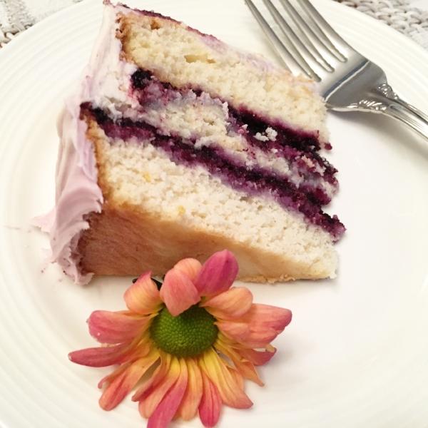 Blueberry Jam Cake