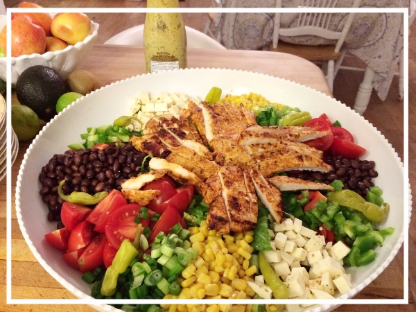 Summer is here! Salad