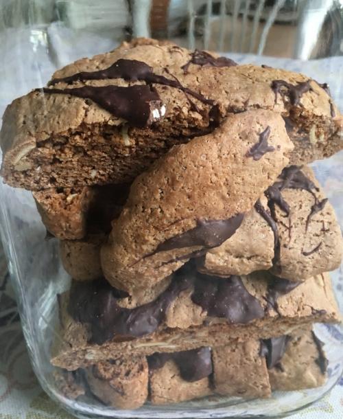 Nutella & Coffee Biscotti