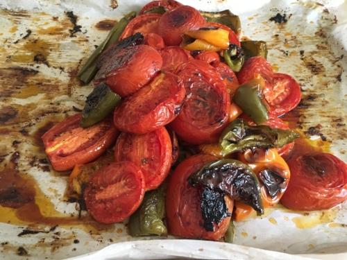 Autumn Roasted Tomatoes