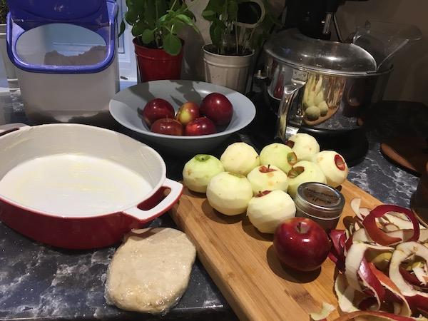 Apple Crisp Tart