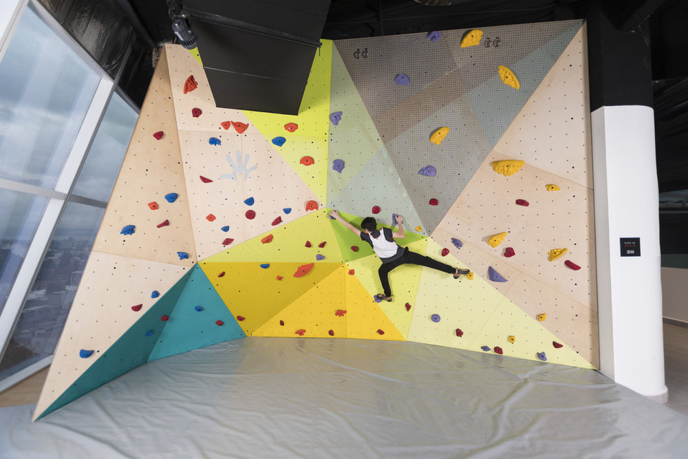 Pared Escalar_Muta Climbing_Sports World Manacar