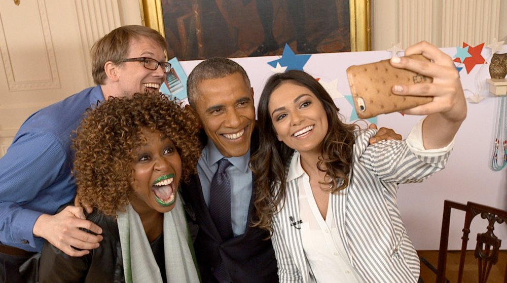 Youtube Interview with President Obama - Produced the 2015 YouTube Interview with President Obama. After the State of the Union, 3 YouTube Creators met with the President at the White House to ask questions top of mind for young Americans across the country.