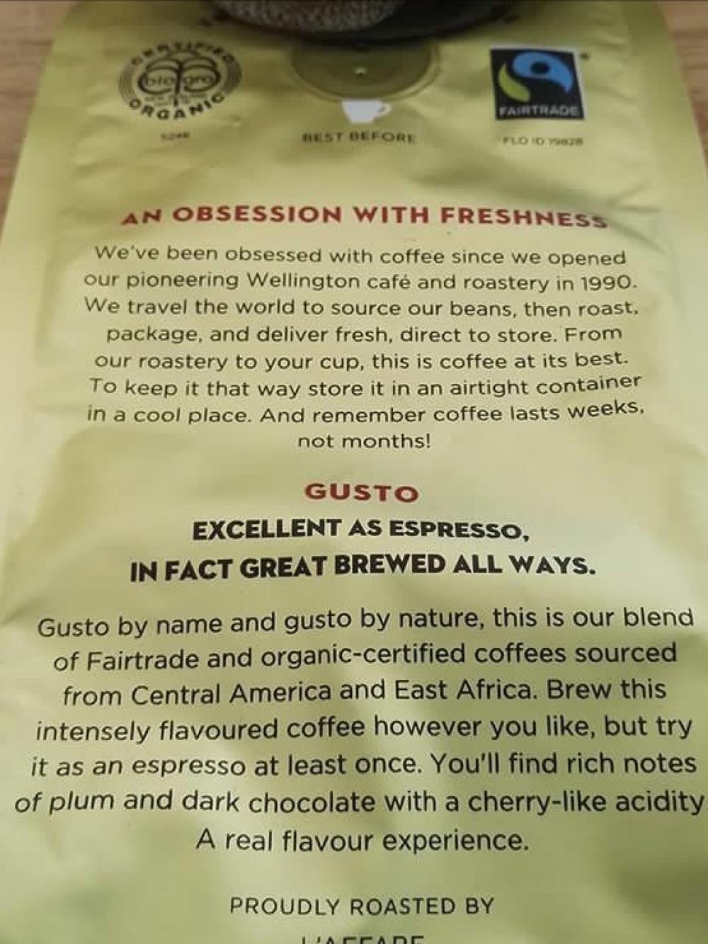 Caffe L'affare - licensee 5246