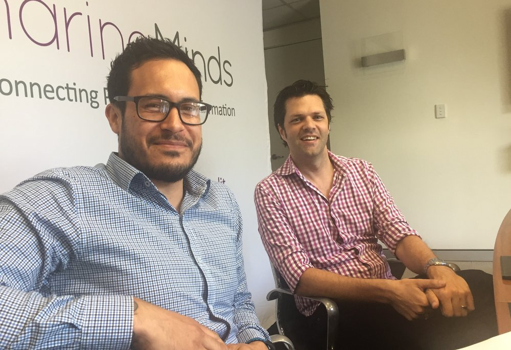 Andrew Jolly and Vincent Siataga - Mercy CS LiveTiles and Sharing Minds webinar