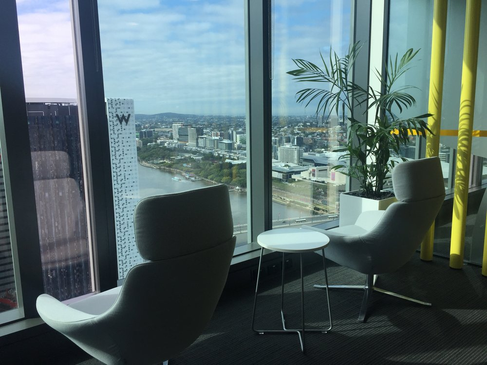 Microsoft office - views over Brisbane and Southbank