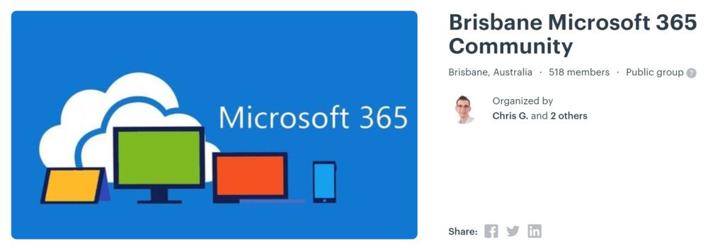 Microsoft 365 banner image