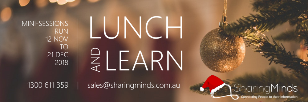 Banner image - Lunch and Learn 2018