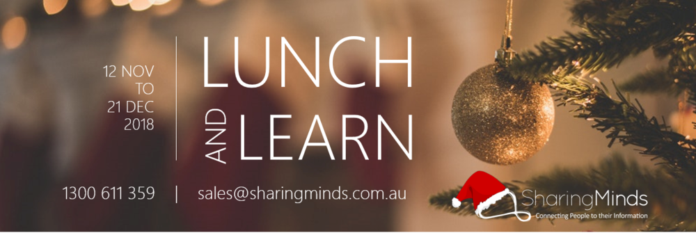 Lunch and Learn with Sharing Minds