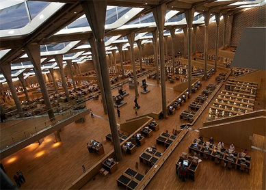 THE ANCIENT LIBRARY OF ALEXANDRIA