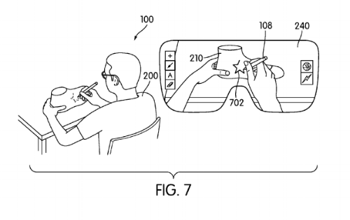 Nike's recent patent for augmented and mixed reality technologies.
