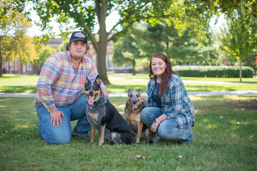 Kylie +Garrett-Pet Session
