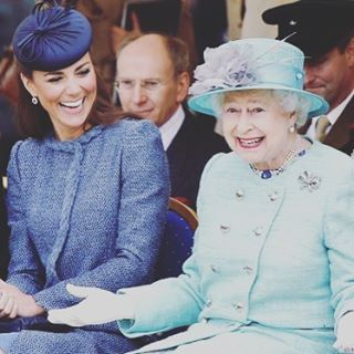 Look who is happy she is getting her special free VIP birthday degustation dinner from the Grand today, if you haven't already sign up as a VIP on our website for your free birthday dinner, oh and we are open all day serving meals fit for a queen!! #open #happybirthdaylizzie #grandrichmond