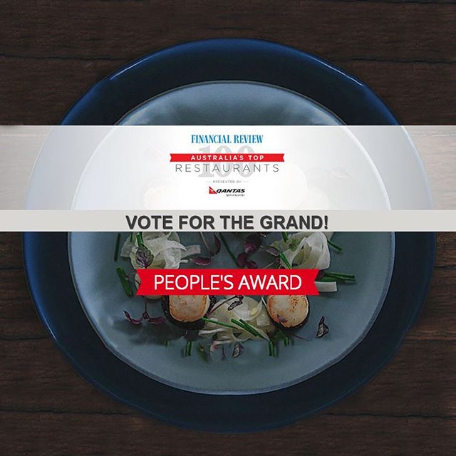 We need your help, please vote for us for the people's choice awards for the top 100 restaurants in Australia. Every vote counts and we would really appreciate yours, web link is in profile #topmelbournerestaurants #richmond #grandrichmond #afrtoprestaurants