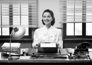 Cheerful Vintage Secretary