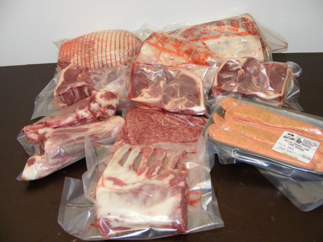 Example of a half lamb pack