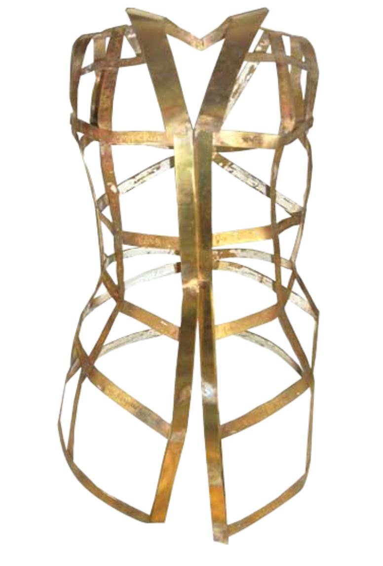 Artist: Octora, Indonesia    Title: Algolagnia 2 Medium: powder coated metal  Dimension : 80 cm x 40 cm x 35 cm Year:2012