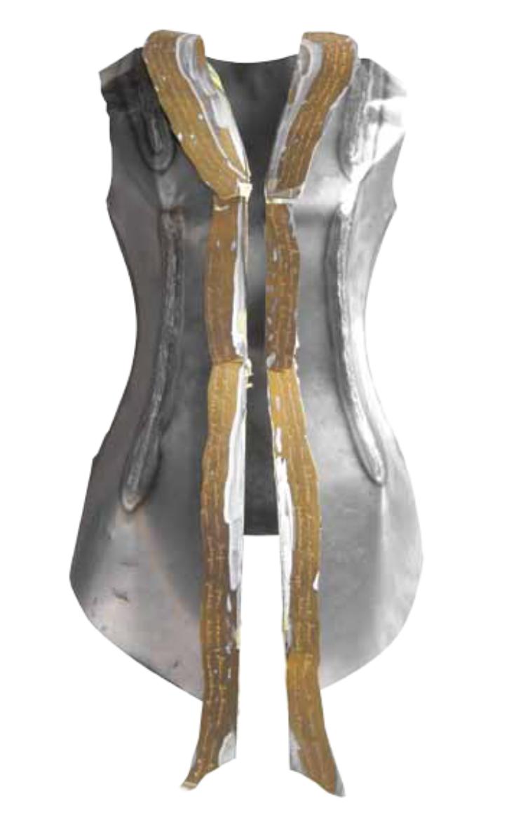 Artist: Octora, Indonesia    Title: Heritage of Pain Medium: brass   Dimension : 80 cm x 40 cm x 35 cm Year:2012