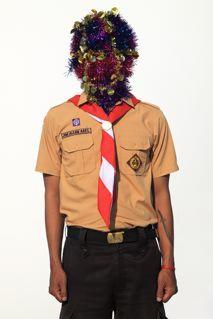 Artist: Jim Allen Abel, Indonesia    Title: Self Portrait - PRAMUKA Medium: c-print paper on d-bond & plexiglass   Dimension: 100 cm x 150 cm Edition: 3 + 2 AP    Year:2011