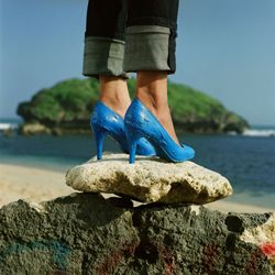 Artist: Wimo Ambala Bayang, Indonesia    Title: Not So (High) Heels Medium: Pigment print on Hahnemuele Rag Baryta Paper   Dimension: 110 cm x 110 cm, 3 editions + 2AP Year: 2010    SOLD