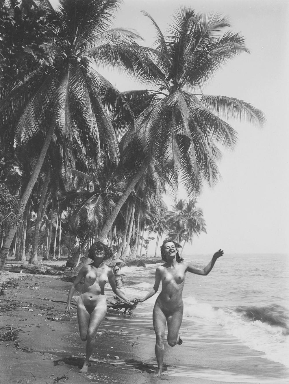 Artist: Agan Harahap (Indonesia)    Title: Vakantie In Indonesie series, Banyuwangi 1942   Medium: mixed media    Dimension: 60 cm x 45 cm Year:2016