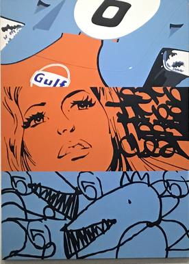 Artist: Fenx, France    Title: Medium: mixed media on canvas   Dimension: Year: 2016