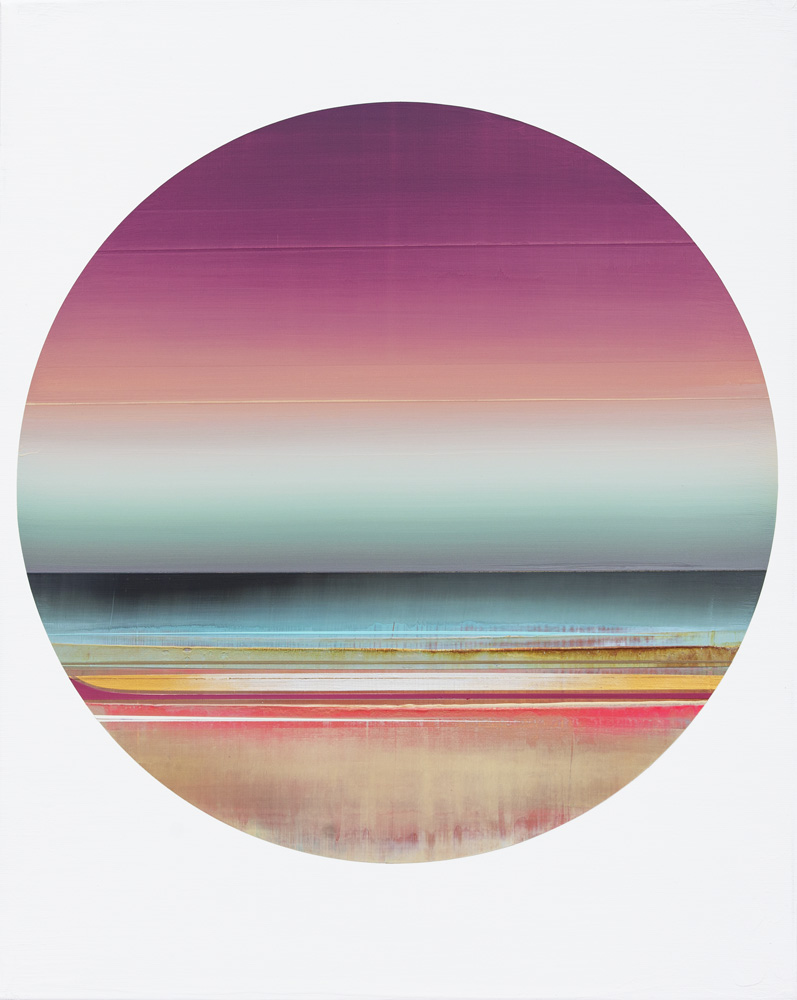 Artist: Micah Crandall-Bear, USA  Title: Passenger 2 Medium: acrylic on canvas  Dimension: 50 cm x 40 cm Year: 2017   SOLD