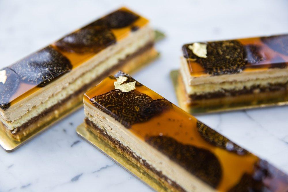 Black Truffle Opera Cake